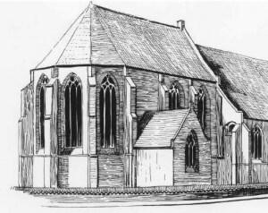 Koorgedeelte Oude kerk